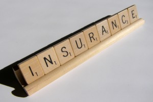 Insurance in Scrabble tiles