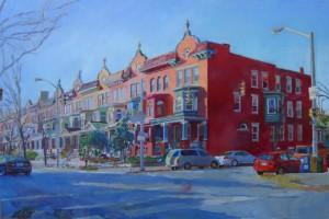 Charles Village by Patricia Bennett