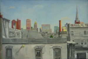 Baltimore View by Patricia Bennett