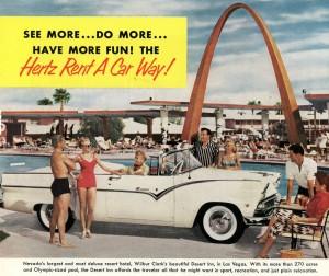 Rental Car Advertisement