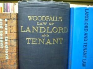 landlord tenant law books
