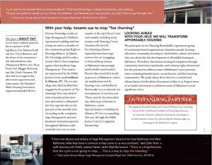 Public Justice Center Annual Report